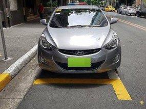 Silver Hyundai Elantra 2014 Automatic for sale