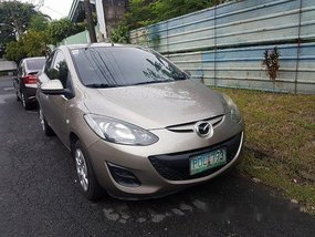 Sell Beige 2011 Mazda 2 Manual Gasoline