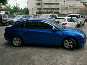 Blue Chevrolet Cruze 2010 at 39500 km for sale