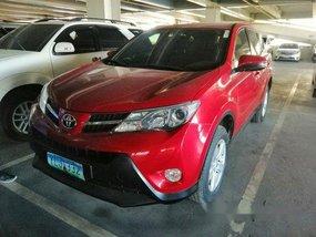 Red Toyota Rav4 2013 for sale in Cebu