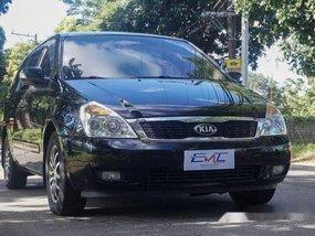 Black Kia Carnival 2012 Manual Diesel for sale