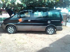 Black Hyundai Starex 1997 Manual Diesel for sale