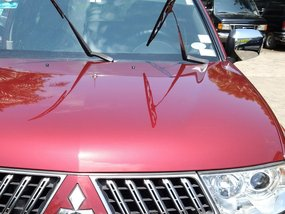 Selling Red Mitsubishi Montero Sport 2011 in Makati