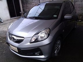Silver Honda Brio 2016 for sale in Cainta
