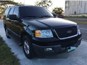 Black Ford Expedition 2003 at 75000 km for sale