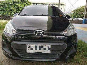 Black Hyundai Grand i10 2014 Manual Gasoline for sale