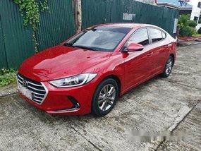 Red Hyundai Elantra 2019 for sale in Parañaque