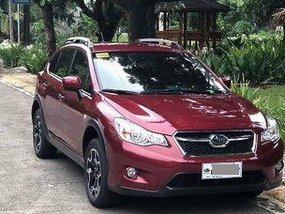 Sell Red 2015 Subaru Xv Automatic Gasoline at 25000 km