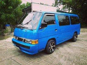 Blue Nissan Urvan 2009 Manual Diesel for sale