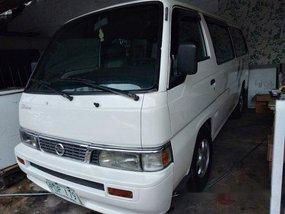 White Nissan Urvan 2011 for sale in Quezon City