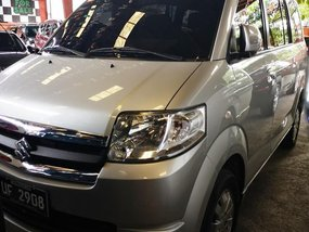 Silver Suzuki Apv 2017 Automatic Gasoline for sale