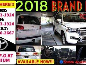 Selling Pearl White Toyota Land Cruiser 2019