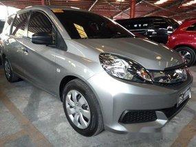 Selling Silver Honda Mobilio 2016 Manual Gasoline at 16000 km