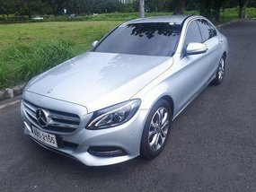 Selling Silver Mercedes-Benz C220 2015 Automatic Diesel