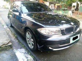Sell Black 2009 Bmw 118I at 44000 km