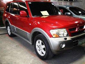 Red Mitsubishi Montero 2006 for sale in Manila