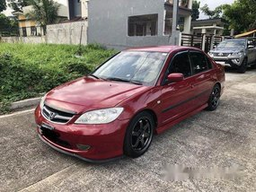 Selling Red Honda Civic 2004 Automatic Gasoline