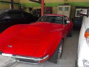 Red Chevrolet Corvette 1970 Manual Gasoline for sale