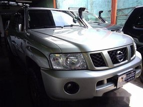 Silver Nissan Patrol 2008 Automatic Diesel for sale