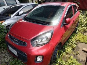 Sell Red 2016 Kia Picanto at 31000 km