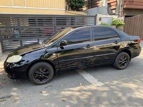 Black Toyota Corolla Altis 2007 Automatic Gasoline for sale
