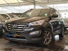 Black Hyundai Santa Fe 2013 for sale in Makati