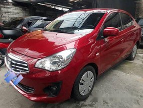 Red Mitsubishi Mirage G4 2016 at 28000 km for sale