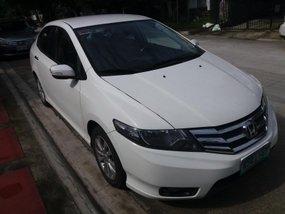 Sell White 2012 Honda City Sedan at 53700 km