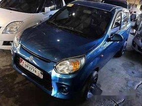 Sell Blue 2017 Suzuki Alto Manual Gasoline at 21000 km