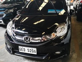 Black Honda Mobilio 2015 for sale in Manila