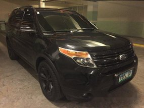 Sell Black 2013 Ford Explorer at 54800 km