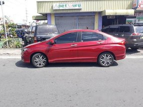 Selling Red Honda City 2019 Automatic Gasoline