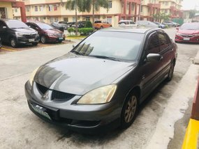 Selling Grey Mitsubishi Lancer 2007 Sedan in Manila
