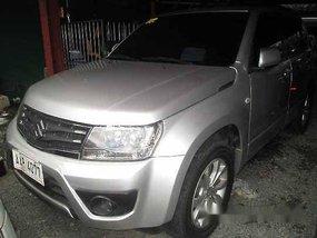 Silver Suzuki Grand Vitara 2014 Automatic Gasoline for sale