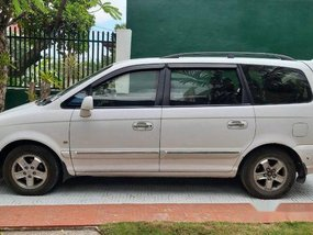 White Hyundai Trajet 2008 for sale in Cebu