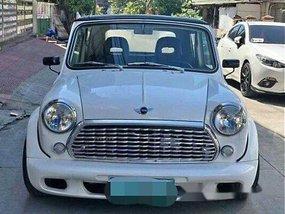 White Mini Cooper 1970 Manual Gasoline for sale
