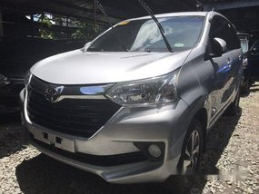 Selling Silver Toyota Avanza 2017 at 8800 km