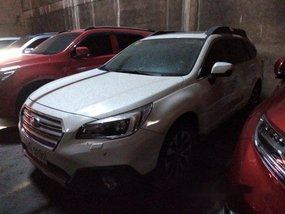 White Subaru Outback 2016 for sale in Makati