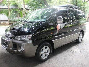 Black Hyundai Starex 2001 for sale in Quezon City