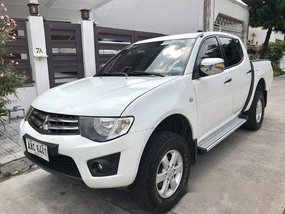 White Mitsubishi Strada 2015 for sale in Pasay