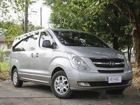 Silver Hyundai Grand Starex 2013 Manual Diesel for sale