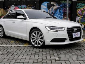 Selling White Audi A6 2012 in Quezon City