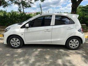 White Honda Brio 2015 Automatic Gasoline for sale