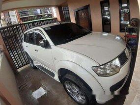 Selling White Mitsubishi Montero Sport 2012 Automatic Diesel at 100000 km