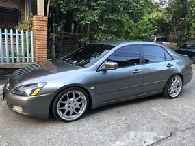 Grey Honda Accord 2003 at 110000 km for sale