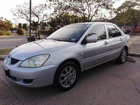 Sell Silver 2007 Mitsubishi Lancer Manual Gasoline