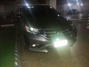 Sell Grey 2014 Honda Cr-V at 40000 km