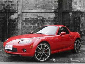 Selling Red Mazda Mx-5 2008 in Quezon City
