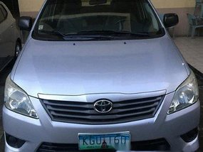 Sell Silver 2013 Toyota Innova Automatic Diesel at 120000 km