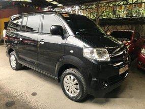 Selling Black Suzuki Apv 2016 Automatic Gasoline